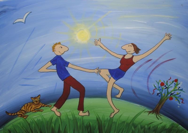 Tanz der Jetztmenschen